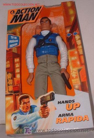 ACTION MAN ARMA RAPIDA CON MOVIMIENTO MAGIC CARS (Juguetes - Figuras de Acción - Action Man)