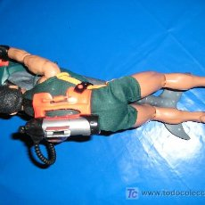 Action man: ACTION MAN DELFIN+ SUBMARINISTA DE HASBRO MAGIC CARS. Lote 9448265