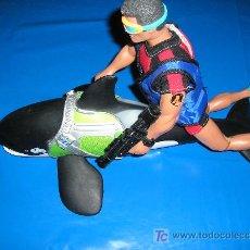 Action man: ACTION MAN SUBMARINISTA + ORCA DE MATTEL MAGIC CARS. Lote 10846683