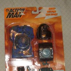 Action man: ACTION MAN,DEEP WATER SALVAGE,HASBRO,BLISTER ORIGINAL,A ESTRENAR,AÑO 1995. Lote 22637340