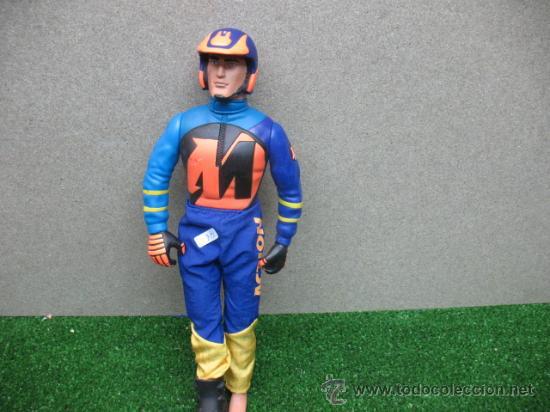 MUÑECO ACTION MAN,PILOTO DE MOTO (Juguetes - Figuras de Acción - Action Man)