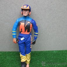 Action man: MUÑECO ACTION MAN,PILOTO DE MOTO. Lote 22678224