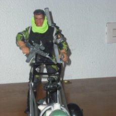 Action man: ACTION MAN CON TRINEO Y PERRO. Lote 27427045