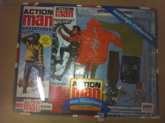 CAJA ACTION MAN 4O ANIVERSARIO EXPLORADOR (Juguetes - Figuras de Acción - Action Man)