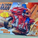 Action man: COMPLEMENTO, ACTION MAN, SUPER BIKE, MOTO NINJA, CASI SIN USO, (LEER DESCRIPCIÓN). Lote 27827800