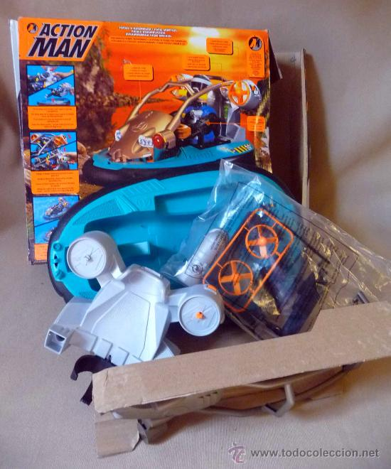 Action man: COMPLEMENTO, ACTION MAN, HYDRO JET, LANCHA, CASI SIN USO - Foto 7 - 27853296