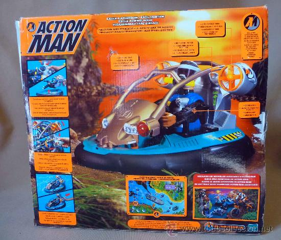 Action man: COMPLEMENTO, ACTION MAN, HYDRO JET, LANCHA, CASI SIN USO - Foto 2 - 27853296