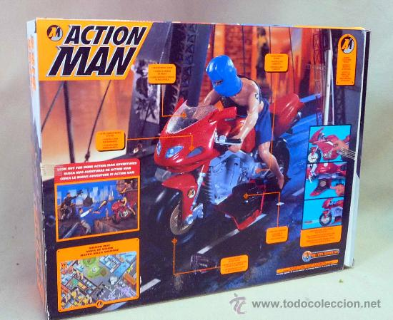 Action man: COMPLEMENTO, ACTION MAN, SUPER BIKE, MOTO NINJA, CASI SIN USO, (LEER DESCRIPCIÓN) - Foto 2 - 27827800