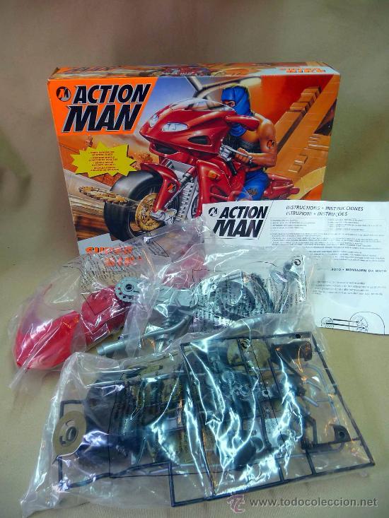 Action man: COMPLEMENTO, ACTION MAN, SUPER BIKE, MOTO NINJA, CASI SIN USO, (LEER DESCRIPCIÓN) - Foto 4 - 27827800
