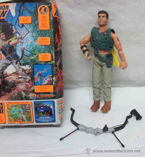 Action man: ACTION MAN ARQUERO,HASBRO,CAJA ORIGINAL,AÑO 1997 - Foto 2 - 28168812