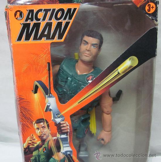 Action man: ACTION MAN ARQUERO,HASBRO,CAJA ORIGINAL,AÑO 1997 - Foto 3 - 28168812