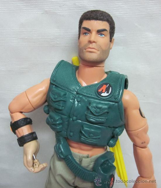 Action man: ACTION MAN ARQUERO,HASBRO,CAJA ORIGINAL,AÑO 1997 - Foto 4 - 28168812