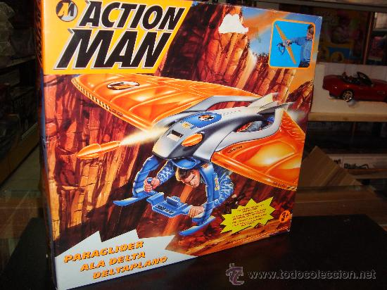 ACTION MAN ALA DELTA HASBRO AÑO 1996 NUEVO DE TIENDA!! (Juguetes - Figuras de Acción - Action Man)