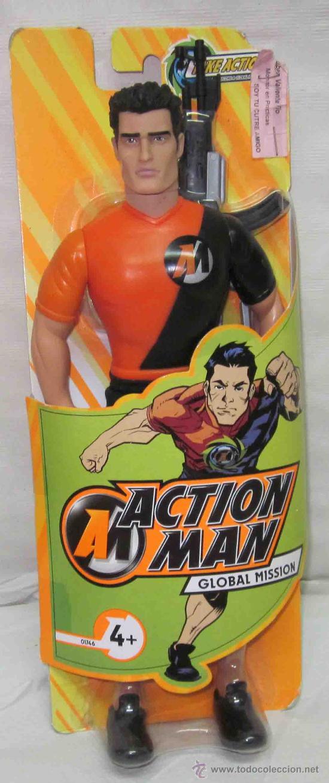 ACTION MAN GLOBAL MISSION,HASBRO,CAJA ORIGINAL,AÑO 2008,A ESTRENAR (Juguetes - Figuras de Acción - Action Man)