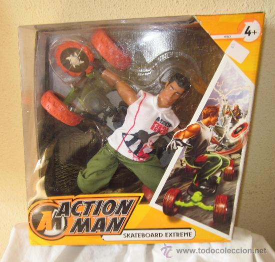 Action Man Skateboard Extremehasbrocaja Origi