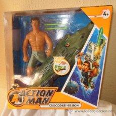 Action man: ACTION MAN CROCODILE MISSION,HASBRO,AÑO 2007,CAJA ORIGINAL,A ESTRENAR. Lote 29504626
