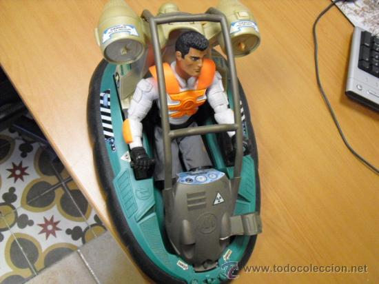 Action man: lancha aguatica action man con muñeco, mide 34x22 - Foto 3 - 33968068