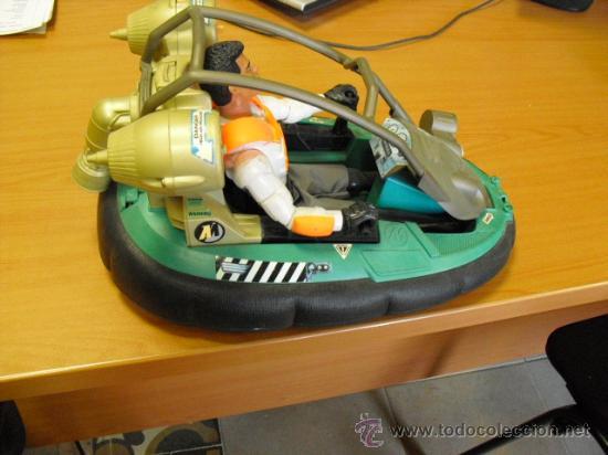 Action man: lancha aguatica action man con muñeco, mide 34x22 - Foto 4 - 33968068