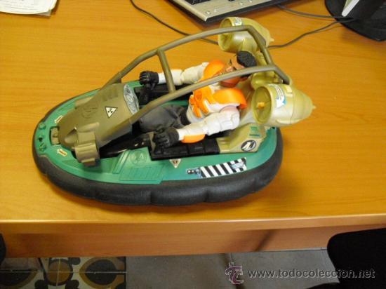 Action man: lancha aguatica action man con muñeco, mide 34x22 - Foto 5 - 33968068