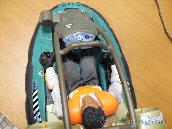 Action man: lancha aguatica action man con muñeco, mide 34x22 - Foto 6 - 33968068