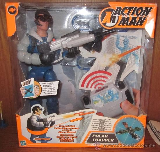 ACTION MAN POLAR TRAPPER,HASBRO,2002,CAJA ORIGINAL,A ESTRENAR (Juguetes - Figuras de Acción - Action Man)
