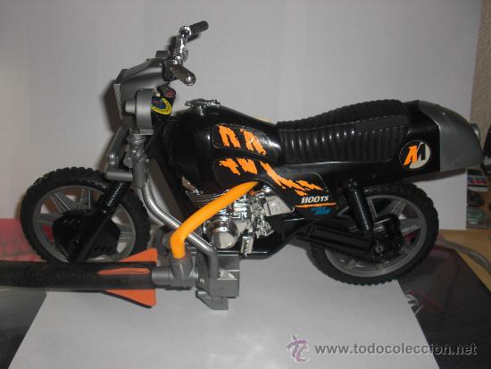missile bike moto action man hasbro comprar action man en todocoleccion 35806027. Black Bedroom Furniture Sets. Home Design Ideas