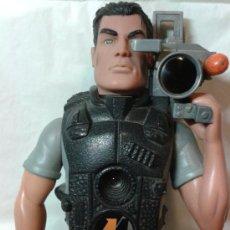 Action man: FIGURA ACTION MAN CAMARA DE TELEVISION ARTICULADO HASBRO 1998 C - 022E. Lote 36303506