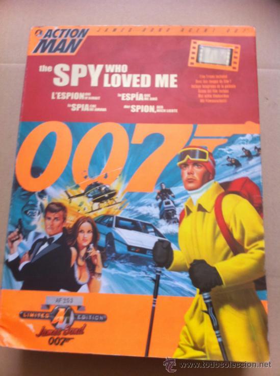 CAJA ACTION MAN SERIE 007 (Juguetes - Figuras de Acción - Action Man)