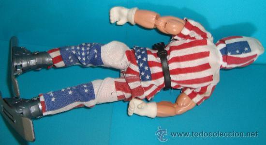 Action man: Figura de acción Action Man esquiador bandera de EEUU, - Foto 3 - 37922429