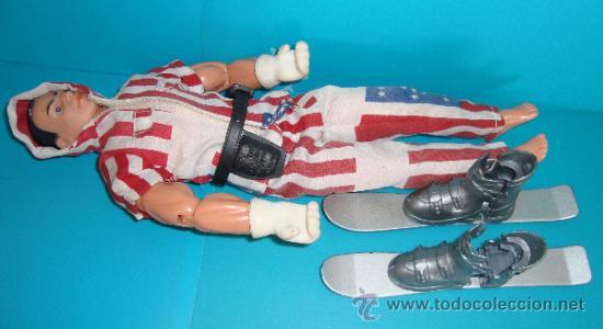 Action man: Figura de acción Action Man esquiador bandera de EEUU, - Foto 4 - 37922429
