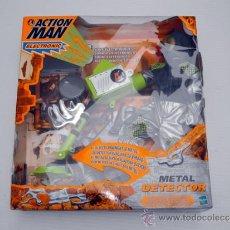 Action man: ACTION MAN METAL DETECTOR ELECTRONIC HASBRO NUEVO A ESTRENAR RARO. Lote 39276224