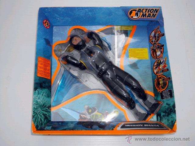 ACTION MAN MISSION MANTA HASBRO 2002 NUEVO A ESTRENAR Y PRECINTADO (Juguetes - Figuras de Acción - Action Man)