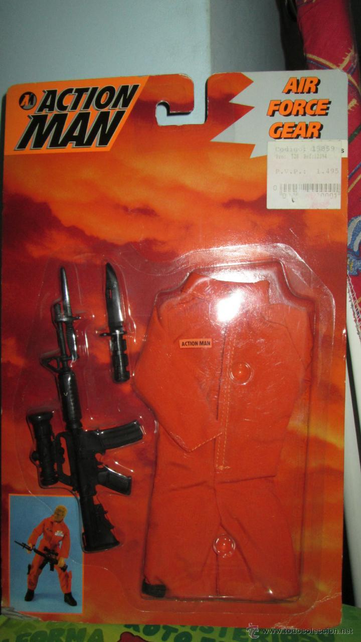 BLISTER ACCESORIOS ACTION MAN AIR FORCE GEAR S.O.S HASBRO 1995 (Juguetes - Figuras de Acción - Action Man)