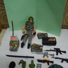 Action man: ACTION MAN CON MUCHOS ACCESORIOS. NUEVO. -ION. Lote 41768795