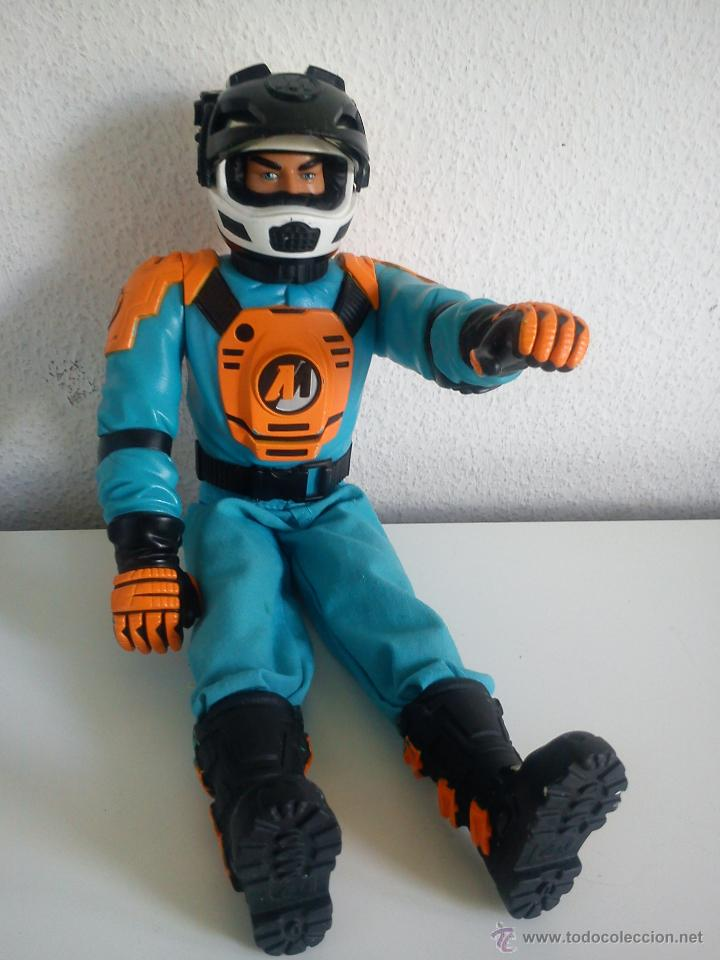 Action man: MUÑECO ACTION . MAN . ROPA ORIGINAL SE ABRE EL CRISTAL DEL CASCO. AÑO 1999 - Foto 6 - 43391975