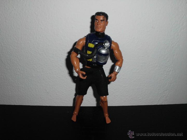 Action man: muñeco figura action man tamaño medio actionman - Foto 2 - 44388001