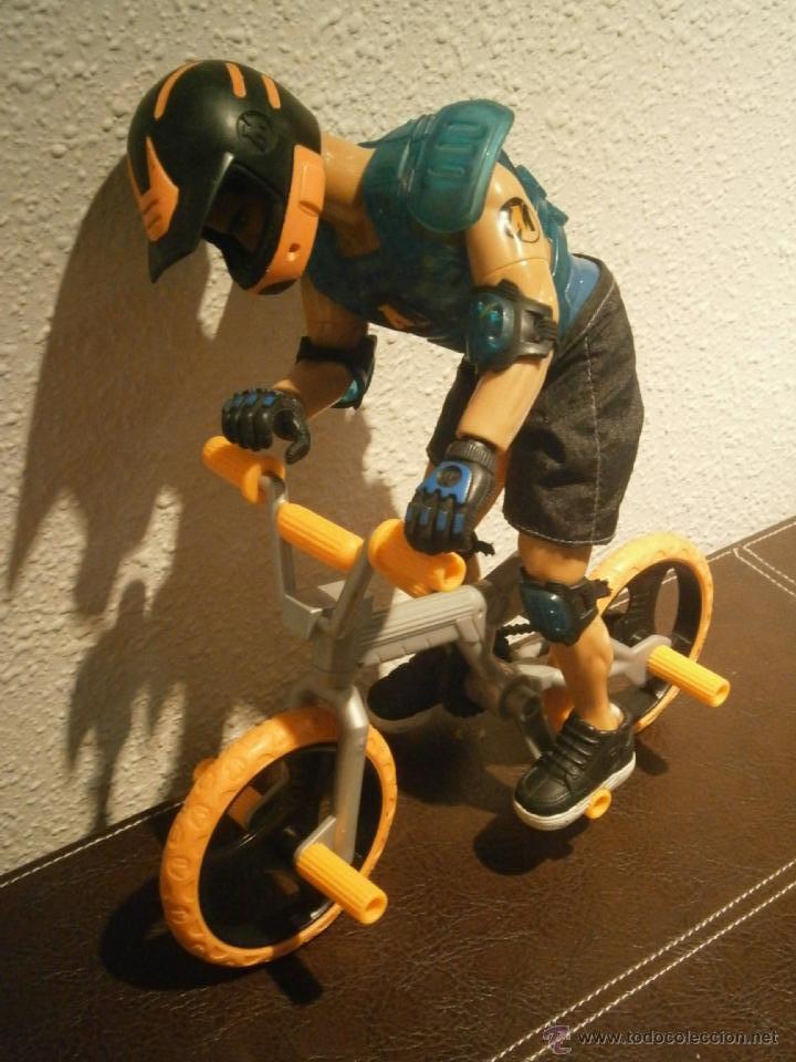 ACTION MAN CON BICICLETA (Juguetes - Figuras de Acción - Action Man)