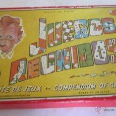 Action man: JUEGO DE MESA. JUEGOS REUNIDOS DEL 15, GEYPER, EN CAJA. MUY ANTIGUO. VV. Lote 46305178