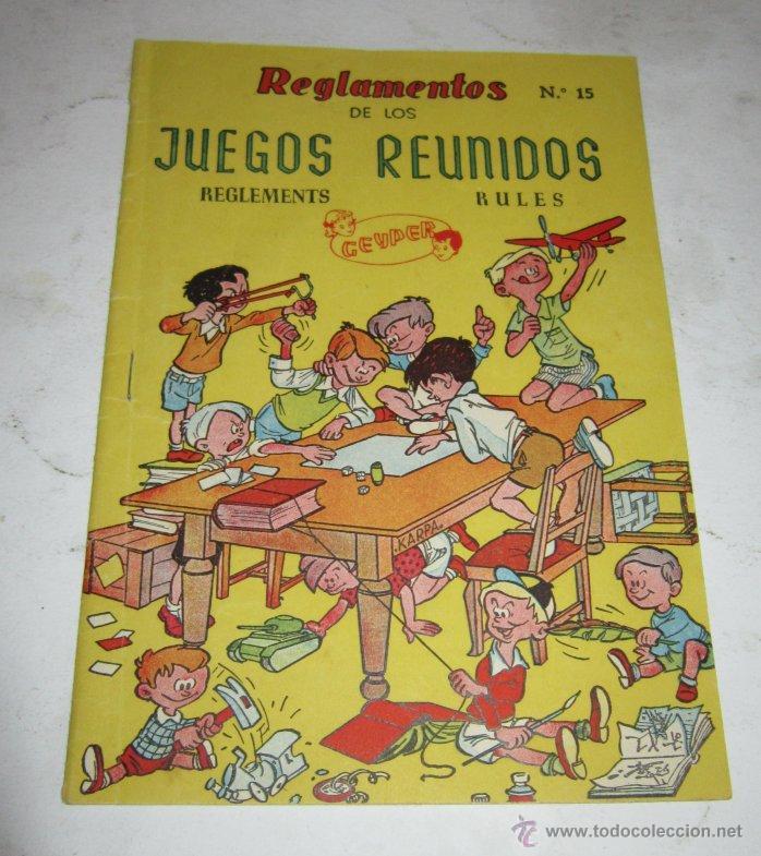 Action man: JUEGO DE MESA. JUEGOS REUNIDOS DEL 15, GEYPER, EN CAJA. MUY ANTIGUO. VV - Foto 4 - 46305178