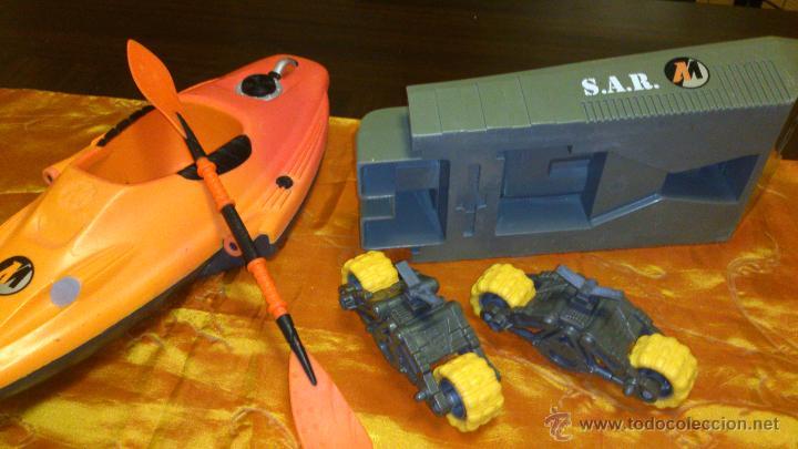 Action man: Lote de accesorios de action man,canoa ,ruedas y tanque. - Foto 4 - 46341746