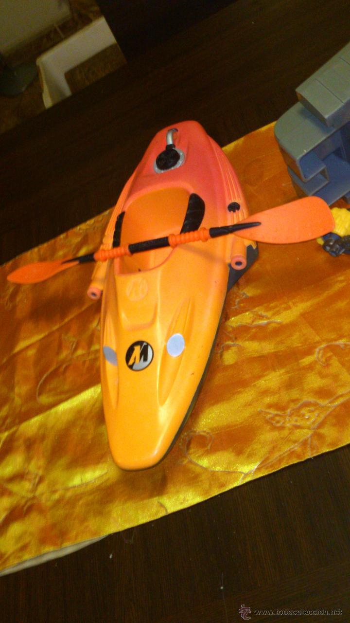 Action man: Lote de accesorios de action man,canoa ,ruedas y tanque. - Foto 5 - 46341746