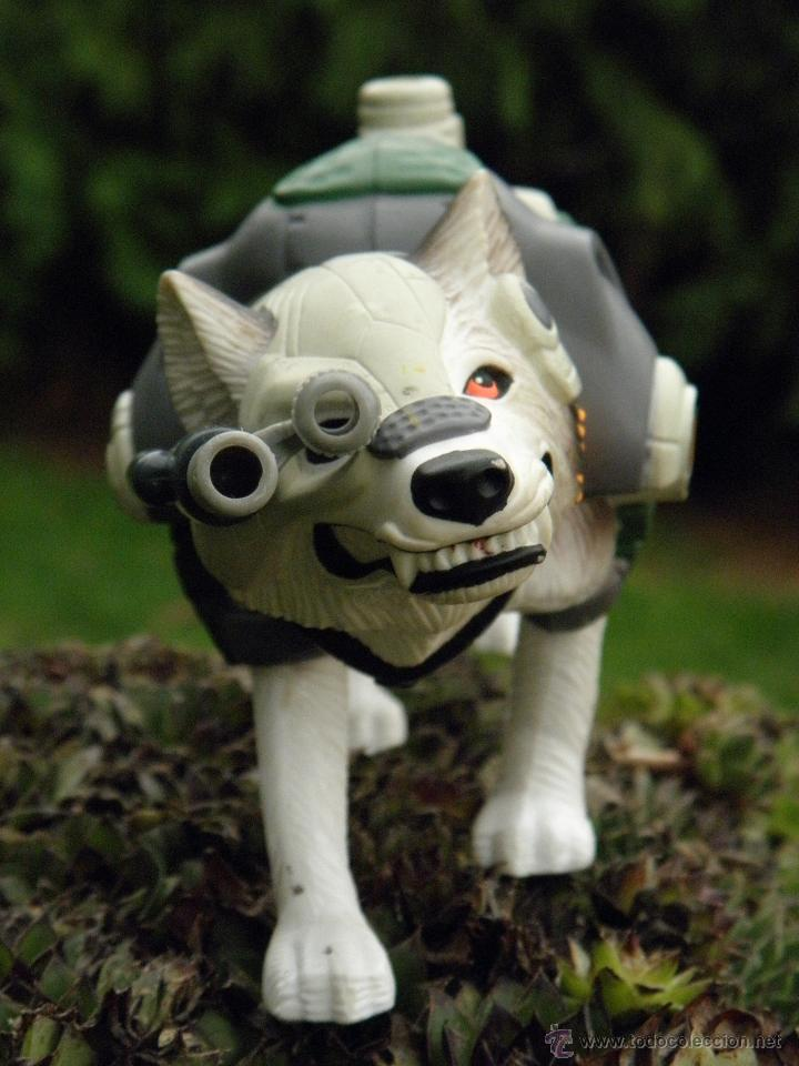 Action man: Perro Husky con sonido de Action Man Polar Mission de Hasbro 1999 - Foto 1 - 46348180