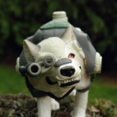 Action man: PERRO HUSKY CON SONIDO DE ACTION MAN POLAR MISSION DE HASBRO 1999. Lote 46348180