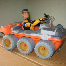 Action man: VEHICULO CON MUÑECO ACTION MAN. Lote 49254360