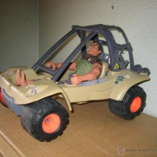 Action man: VEHICULO CON MUÑECO ACTION MAN. Lote 49254390
