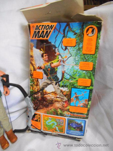 Action man: ACTION MAN ARQUERO DE HASBRO, CON SU CAJA ORIGINAL - Foto 4 - 49299594