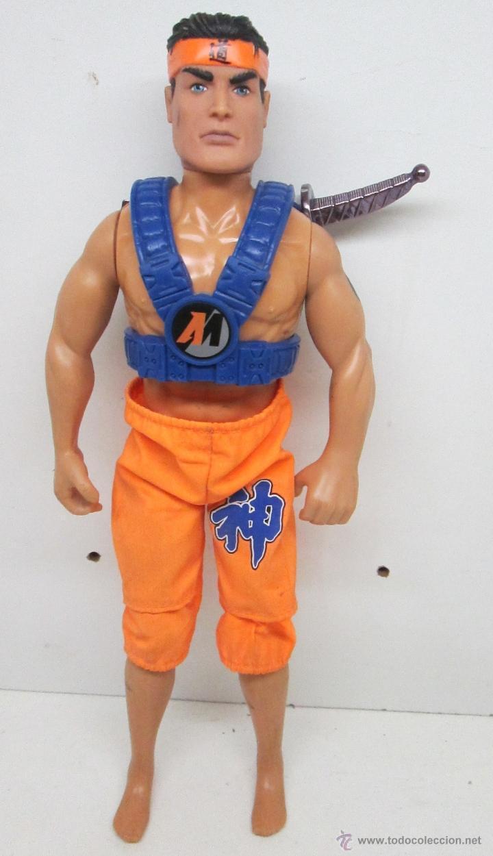 ACTION MAN NINJA HASBRO / MB (Juguetes - Figuras de Acción - Action Man)