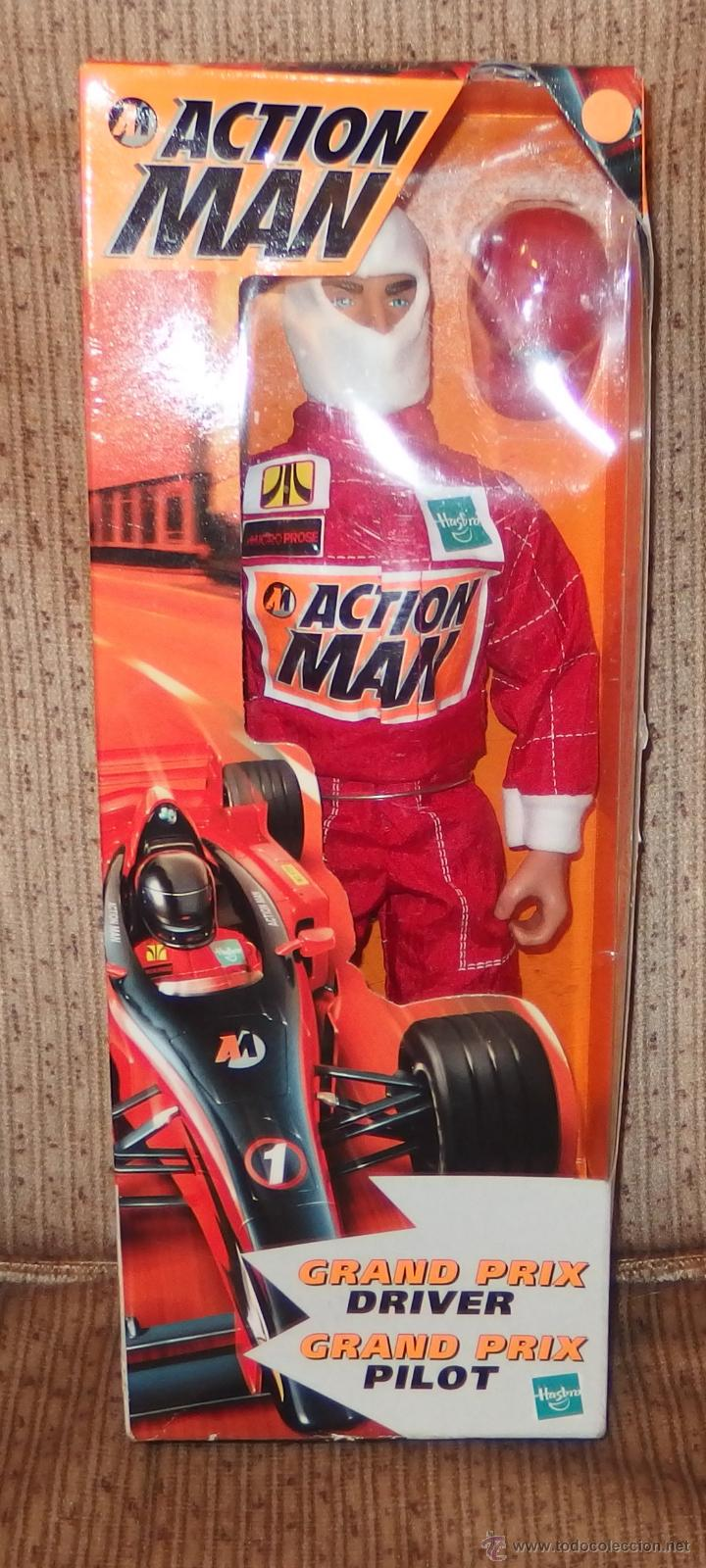 action man grand prix driver grand prix pilot h comprar action man en todocoleccion 51611380. Black Bedroom Furniture Sets. Home Design Ideas