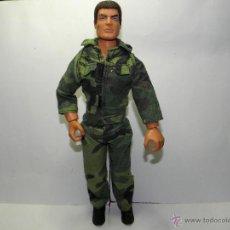 Action man: ACTION MAN MILITAR PELO FLOCADO 1997. Lote 52802412