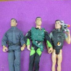 Action man: LOTE 3 MUÑECOS ACTION MAN, HASBRO 1998, VER FOTOS ADICIONALES. Lote 52821290